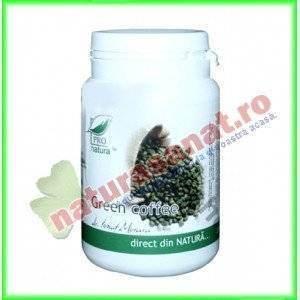 Green Coffee (Cafea Verde) 60 capsule - Medica Farmimpex