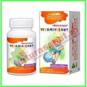Vitaminizant 60 comprimate masticabile Gama Ingeras - Dacia Plant