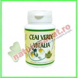 Ceai verde 400mg 50cps - Vitalia K