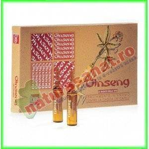 Tratament Contra Caderii Parului Ginseng 12 fiole - Bes Beauty & Science