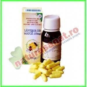Laptisor de matca 150 mg 30 capsule - Institut Apicol