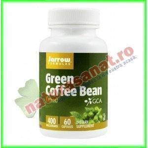 Green Coffee Bean Extract (Extract de cafea Verde) 60 capsule vegetale - Jarrow Formulas - Secom