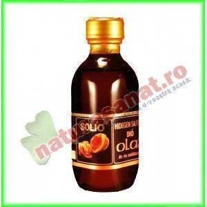 Ulei Samburi de Nuca presat la rece 100 ml - Solio