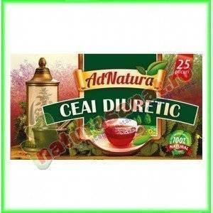 Ceai Diuretic 25 plicuri - Ad Natura