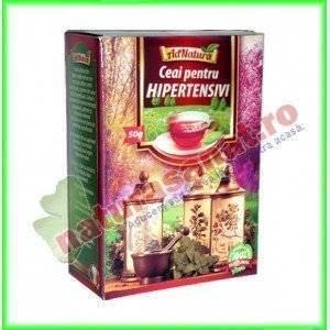 Ceai pentru Hipertensivi 50 g- Ad Natura