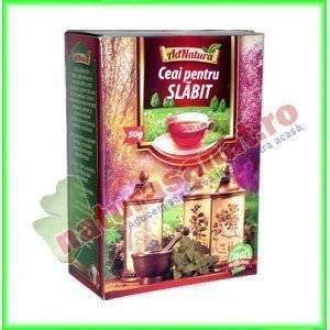 Ceai pentru Slabit 50 g - Ad Natura