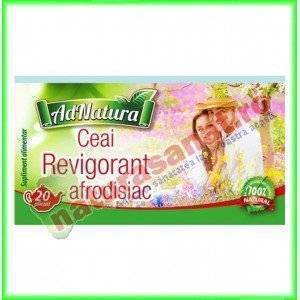 Ceai Afrodisiac Revigorant 25 plicuri - Ad Natura