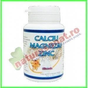 Calciu Magneziu Zinc 50 comprimate - Vitalia K