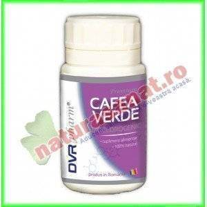 Cafea Verde Bioclorogenic ( Green Coffee ) 60 capsule - DVR Pharm