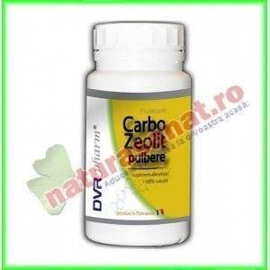 Carbo Zeolit Pulbere 240 g - DVR Pharm